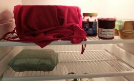 Enfin un peu d'animation dans mon grand frigo trop vide...