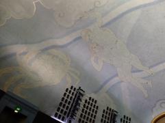 Un aperçu du plafond peint de Bridges.