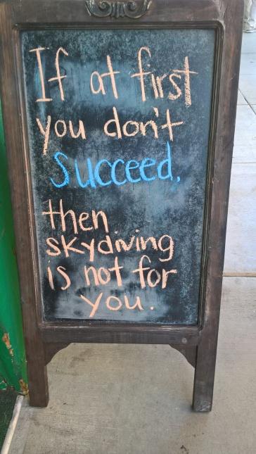 Très sage, le message !