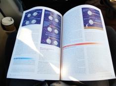Examen d'astronomie prévu à la dernière minute = révisions dans la voiture... Soit huit heures de voiture bien employées.