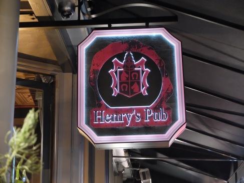 Henry's Pub.