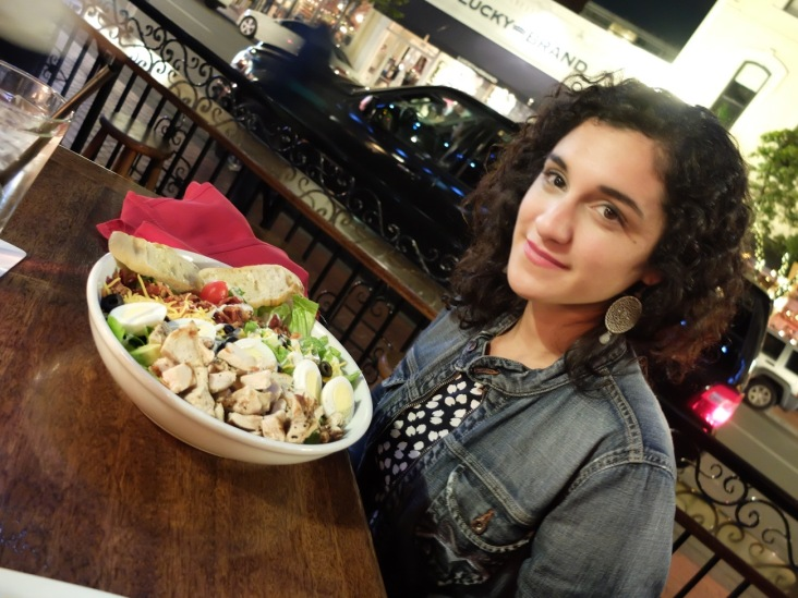 "Sabrina et la ""Salade Sans Fin/Faim"""