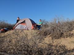 Le meilleur endroit pour poser sa tente !