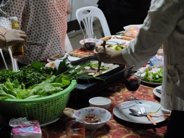Barbecue laotien