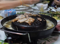 Barbecue et fondue en même temps !