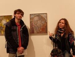 """""""Vous voulez bien poser devant le pseudo-Van Gogh ?"""" Philip Akkerman, Self Portrait, No. 110, 2013."""