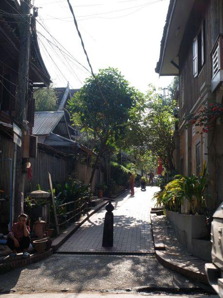 Une petite ruelle piétonne