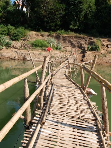 Oserez-vous vous aventurer sur le pont de bambou ?