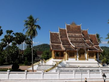 "Le temple royal ""Haw Pha Bang"""