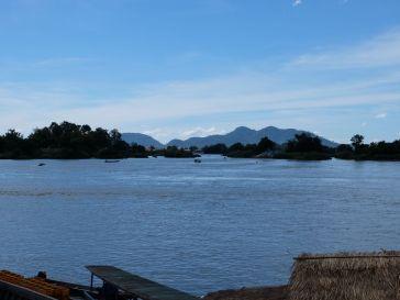 Depuis Nakasang, voilà la vue sur les 4000 îles
