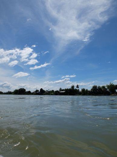 Entre ciel et fleuve