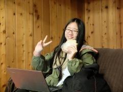 Jinyoung, une de mes étudiantes en français ce semestre.