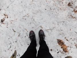 De la neige, sous mes pieds !