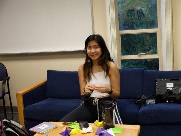 Lena, qui a passé un semestre à Nantes l'année dernière !