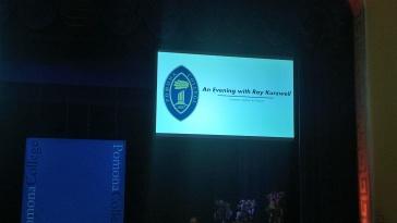 ... Ray Kurzweil dont vous ne verrez que le nom sur l'écran puisque je n'ai pas pris de photos pendant son exposé.