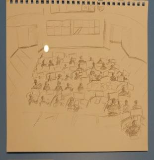 "ICETRIP (Miguel Angel Estevez), ""View of the Control Room, C4i4, Mexico City"", 2014."