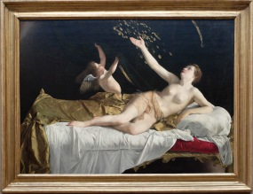 """Orazio Gentileschi, """"Danaé et la douche dorée"""", 1621-23"""