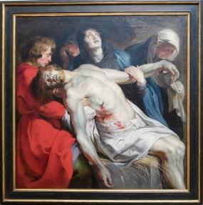 """Pierre-Paul Ruben, """"La Mise au Tombeau"""", 1612"""