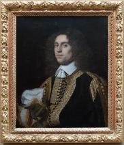 """Bartholomeus Van Der Helst, """"Portrait d'un jeune homme"""", 1650 : quel drôle de geste de la main."""