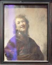 """Rembrandt, """"Rembrandt riant"""", 1628 : quel chouette autoportrait...et ce rire si vivant !"""