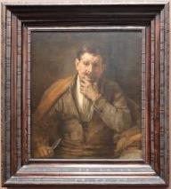 """Rembrandt, """"Saint Bartholomé"""", 1660 : j'ai vraiment appris à apprécier le peintre en regardant ses oeuvres ici. Si vivantes ! En regardant ce portrait, j'ai l'impression de voir un personnage de roman."""