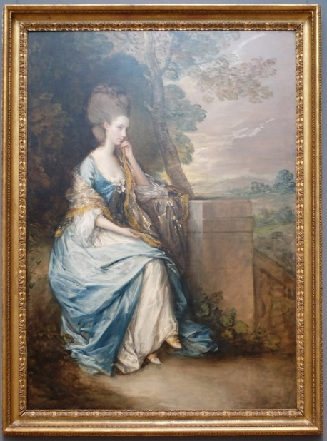 "Thomas Gainsborough, ""Portrait d'Anne, Comtesse de Chesterfield"", 1777-78. Pourquoi si mélancolique ?"