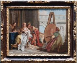 """Giambattista Tiepolo, """"Alexandre le Grand et Campaspe dans l'atelier d'Apelle"""", 1740 : Un classique, à côté de Bellotto, Cannaletto, Longhi ! Wouhou !"""