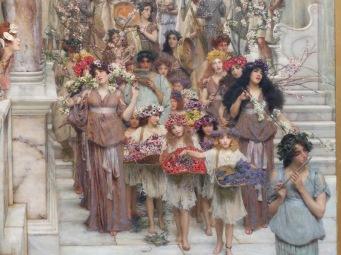 "Lawrence Alma-Tadema, ""Spring"", 1894 (extrait)"