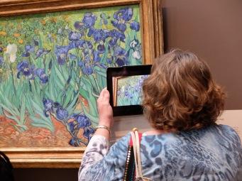 """Vincent Van Gogh, """"Iris"""", 1889 : une des attractions phares du musée !"""