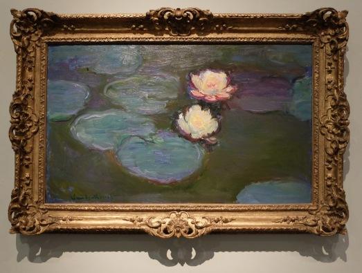 """Claude Monet, """"Nympheas"""", 1897-1898 : bonjour cher Claude ! Je me rappelle des heures de permanence au lycée, passées devant le tableau de Monet, le musée des Beaux-arts de Nantes se trouvant juste à côté du lycée Clemenceau..."""