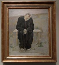 """Ferdinand Hodler, """"Le désillusionné"""", 1892"""