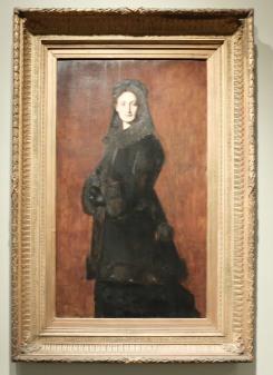 """Jean-Jacques Henner, """"Portrait de Madame Paul Duchesne-Fournet"""", 1879"""