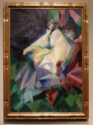 """Jacques Villon, Portrait de Mlle Y.D."""", 1913"""