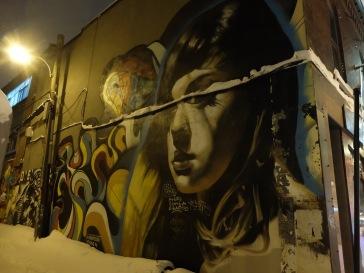 L'art dans les rues de Montréal.