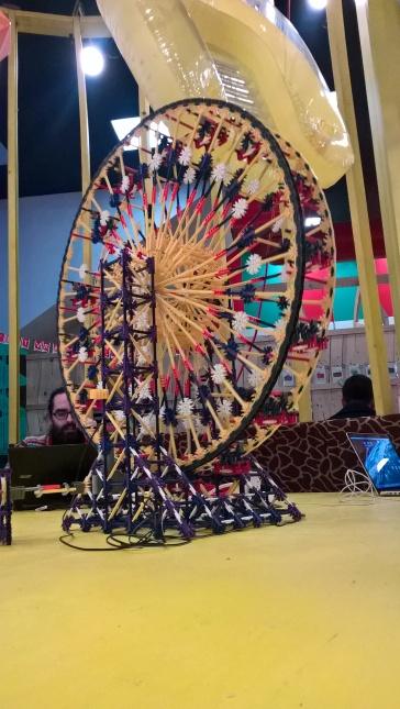 La grande roue hypnotique...
