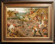 """Pieter Bruegel le Jeune, """"Le Printemps"""", 1620-1630. Je ne dirai qu'un mot : """"jardin""""."""