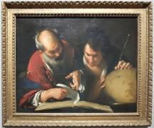 "Bernardo Strozzi, ""Erasthothène enseignant à Alexandrie"", 1635."