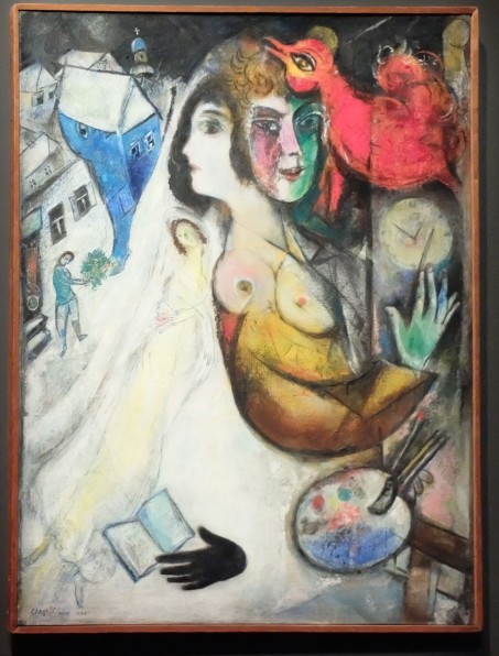 "Marc Chagall, ""Le gant noir"", 1923-1948."
