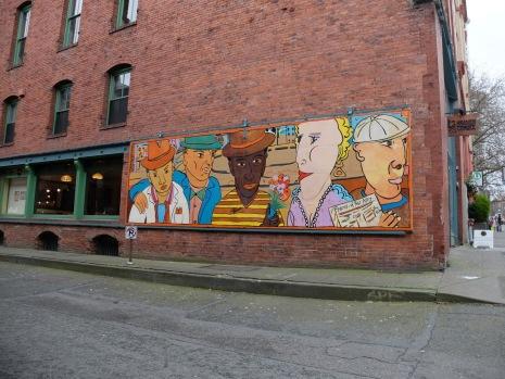 Un petit peu d'art de rue...