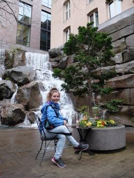 Dans le Waterfall Garden...