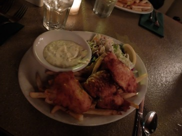 Fish & Chips pour moi.