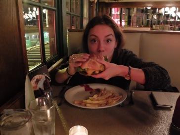 Hamburger classique pour madame.