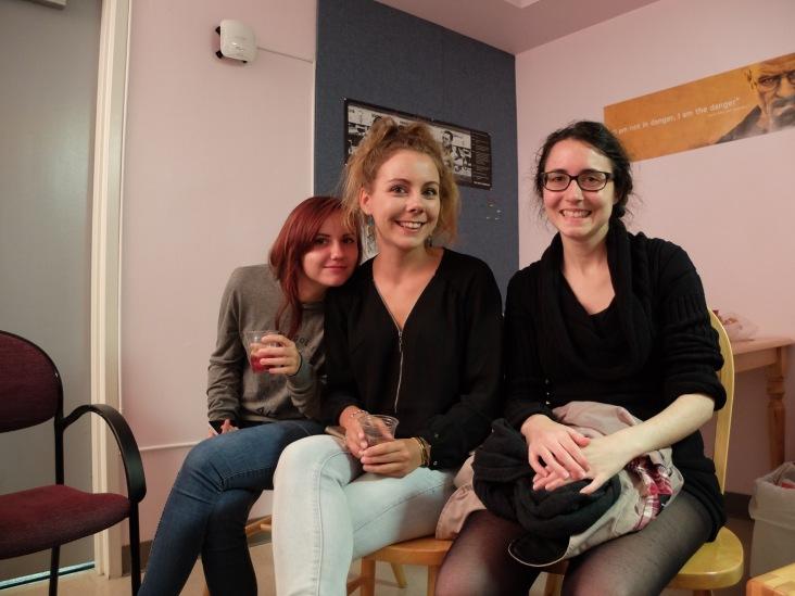 Tatiana et Maÿlis que je ne vous présente plus et Lucia !