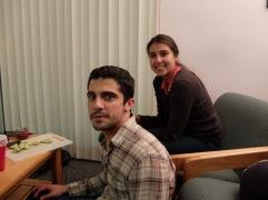 Duo hispanisant avec Joaquin et Tamara !