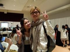 Avec Alva, qui étudiera à Sciences Po Paris à la rentrée prochaine !