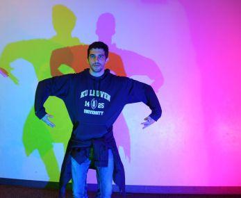 Ambiance discothèque au musée des sciences de Boston !