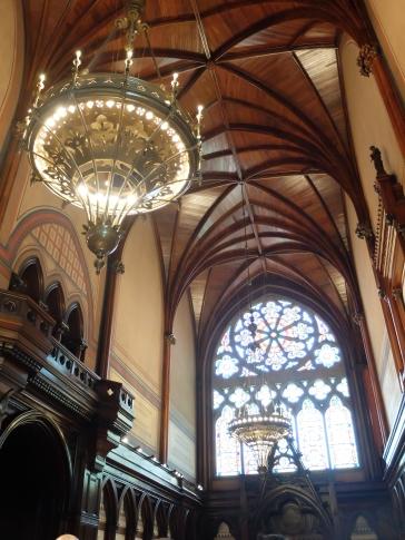 L'intérieur du Memorial Hall
