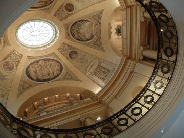 La célèbre rotonde du musée des Beaux-arts de Boston, avec des fresques de John Singer Sargent réalisées entre 1916 et 1925.