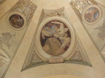 """John Singer Sargent, """"Le Sphinx et la Chimère"""", 1925 : petit détail de la rotonde."""