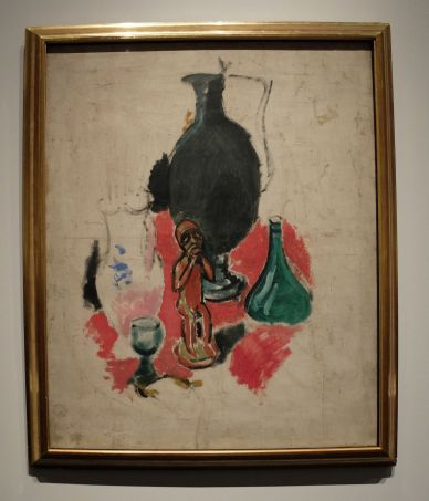 "Henri Matisse, ""Nature morte à la statuette nègre"", 1902."